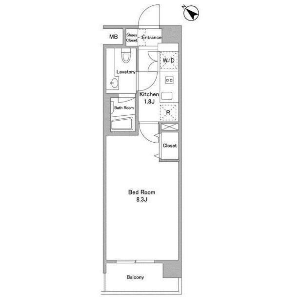 BPRレジデンス代々木初台107号室