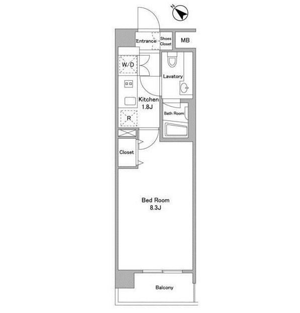 BPRレジデンス代々木初台302号室