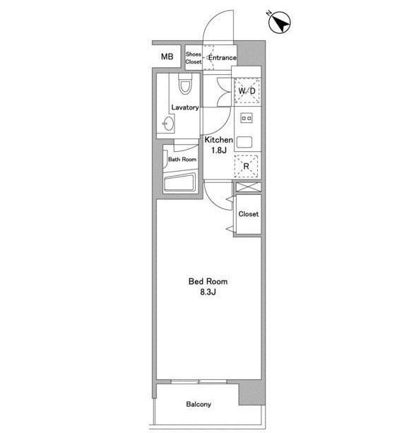 パシフィックレジデンス代々木初台403号室