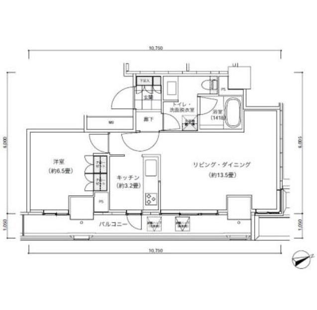 パークキューブ愛宕山タワー1905号室