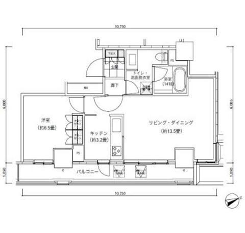 パークキューブ愛宕山タワー2405号室