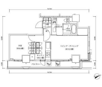 パークキューブ愛宕山タワー2705号室