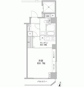 フォレシティ九段1002号室