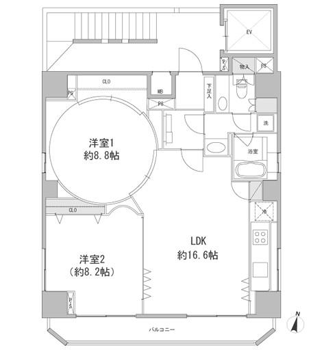 フォレシティ九段1301号室