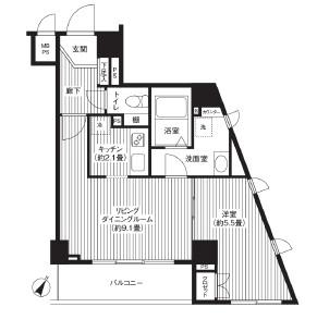 カスタリア初台204号室