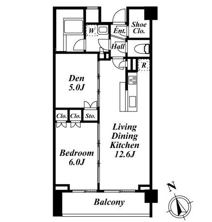 フォレシティ富ヶ谷504号室