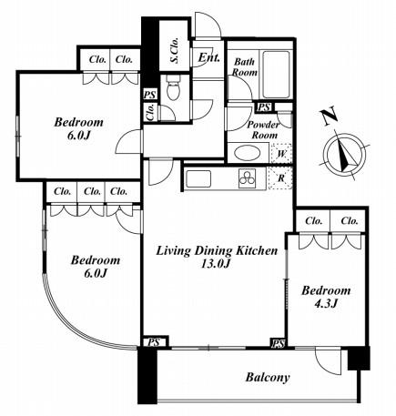 フォレシティ富ヶ谷702号室
