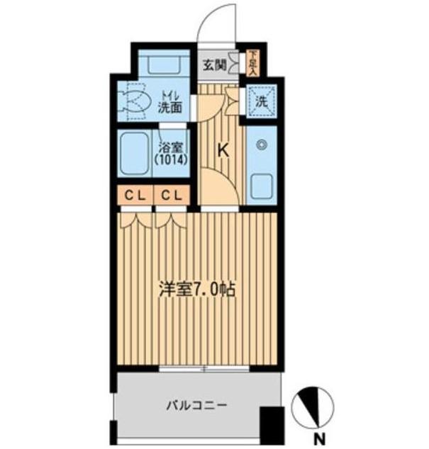 フォレシティ麻布十番404号室