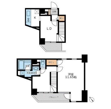 フォレシティ六本木1201号室