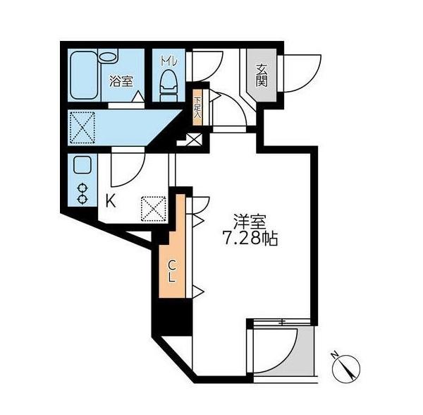 フォレシティ六本木601号室