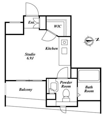クレジデンス銀座タワーワンフィフティーン 207号室