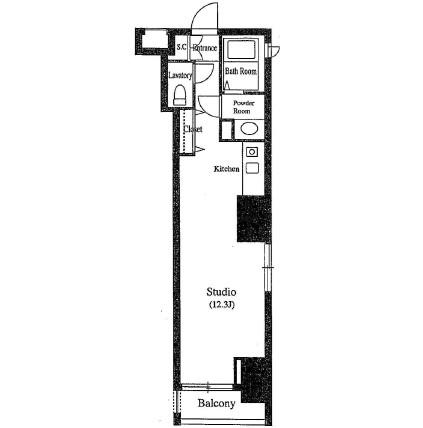 クレジデンス銀座タワーワンフィフティーン701号室