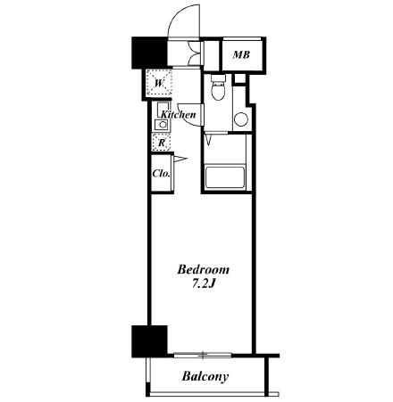 クレジデンス虎ノ門1103号室