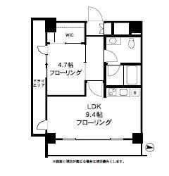四谷デュープレックスDR104号室