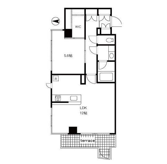 四谷デュープレックスDR214号室