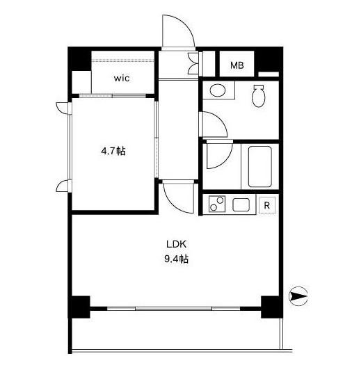 四谷デュープレックスDR304号室