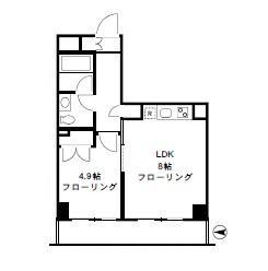 四谷デュープレックスDR407号室