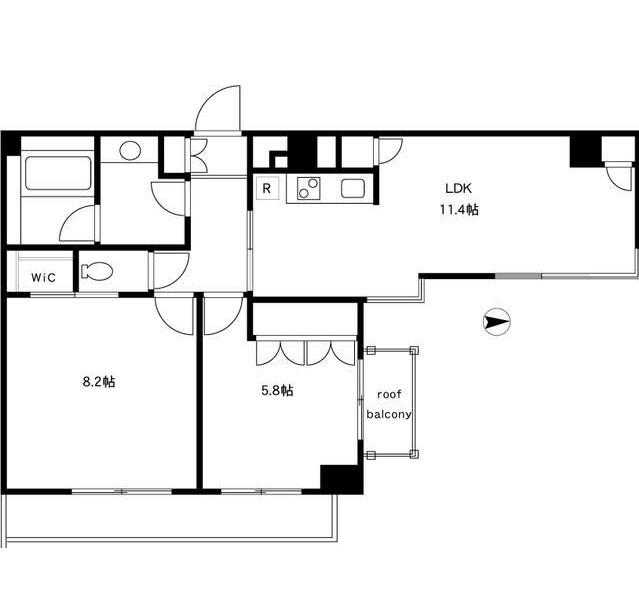 四谷デュープレックスDR501号室