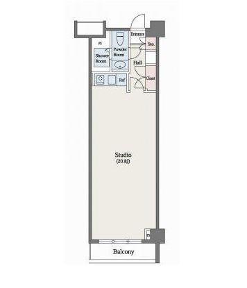 六本木デュープレックスM's208号室
