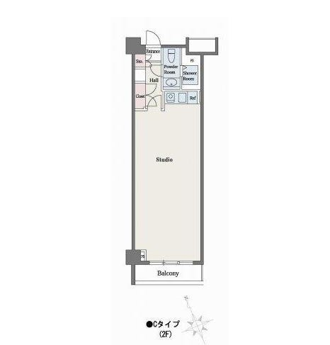 六本木デュープレックスM's211号室
