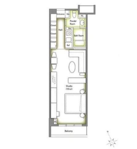 六本木デュープレックスM's302号室
