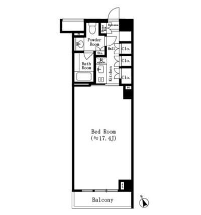 六本木デュープレックスM's308号室