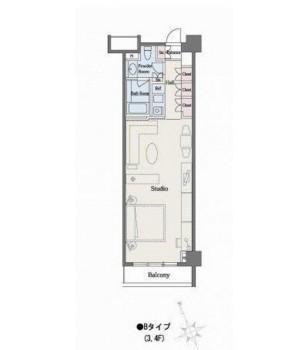 六本木デュープレックスM's312号室