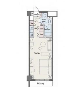 六本木デュープレックスM's317号室