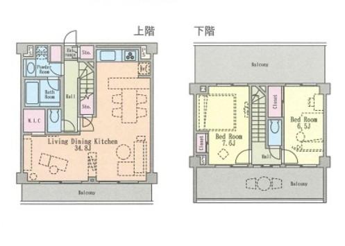 六本木デュープレックスM's506号室