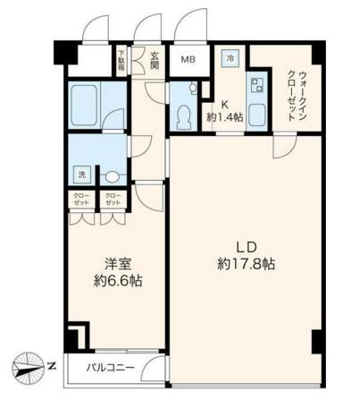 VORT恵比寿Dual's503号室