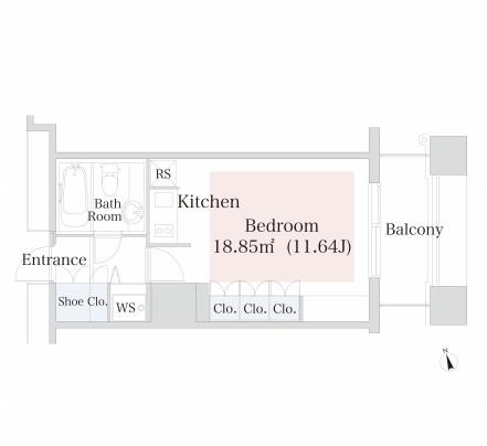 ラ・トゥール神楽坂1102号室