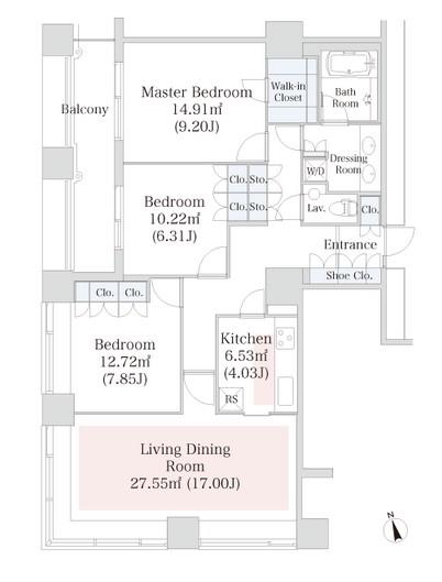 ラ・トゥール神楽坂1107号室