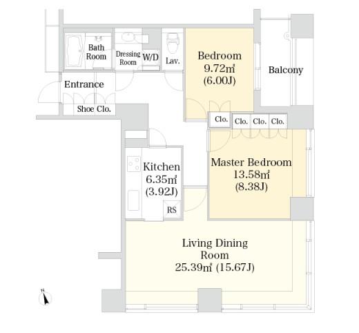 ラ・トゥール神楽坂1601号室