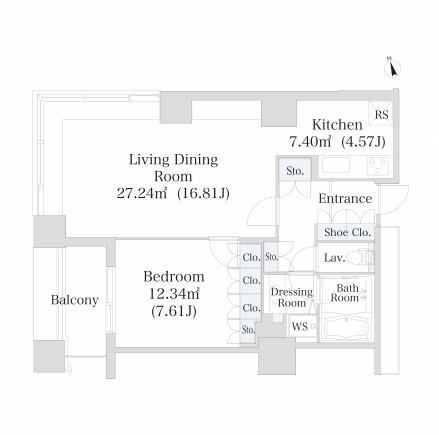 ラ・トゥール神楽坂1706号室