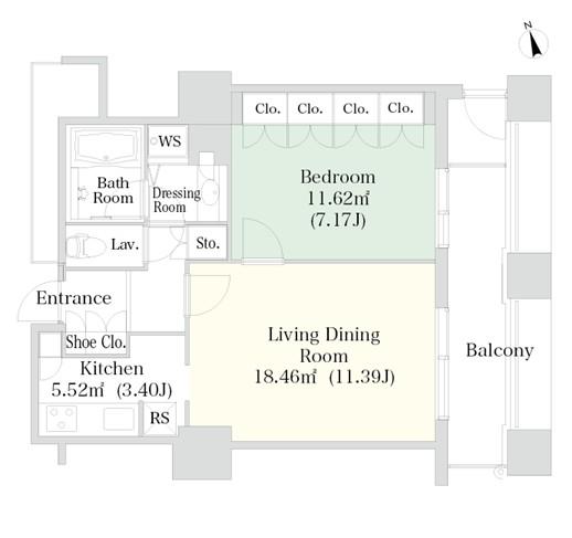 ラ・トゥール神楽坂404号室