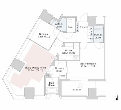 ラ・トゥール新宿1111号室