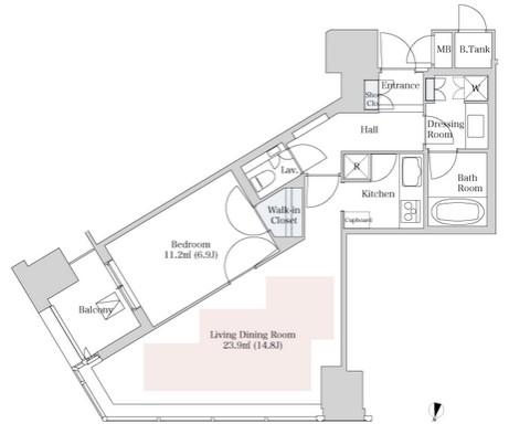 ラ・トゥール新宿2603号室