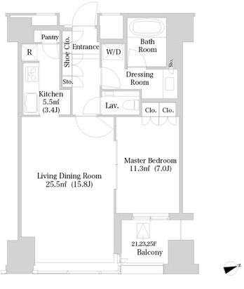 ラ・トゥール新宿2617号室