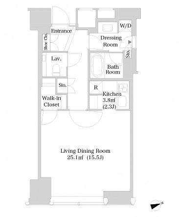 ラ・トゥール新宿3020号室