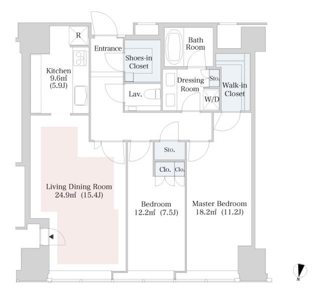 ラ・トゥール新宿3201号室
