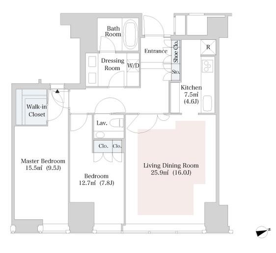 ラ・トゥール新宿3614号室