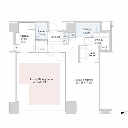 ラ・トゥール新宿4009号室