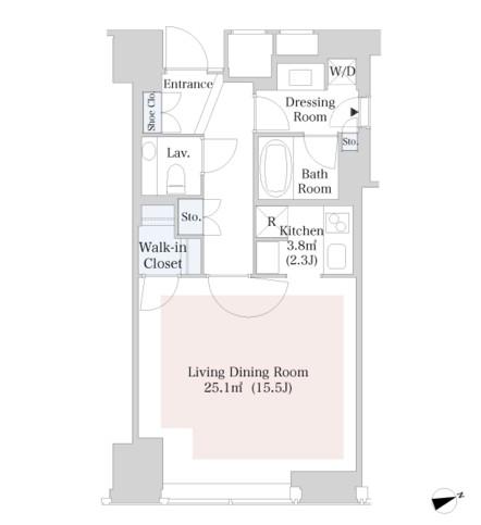 ラ・トゥール新宿4013号室