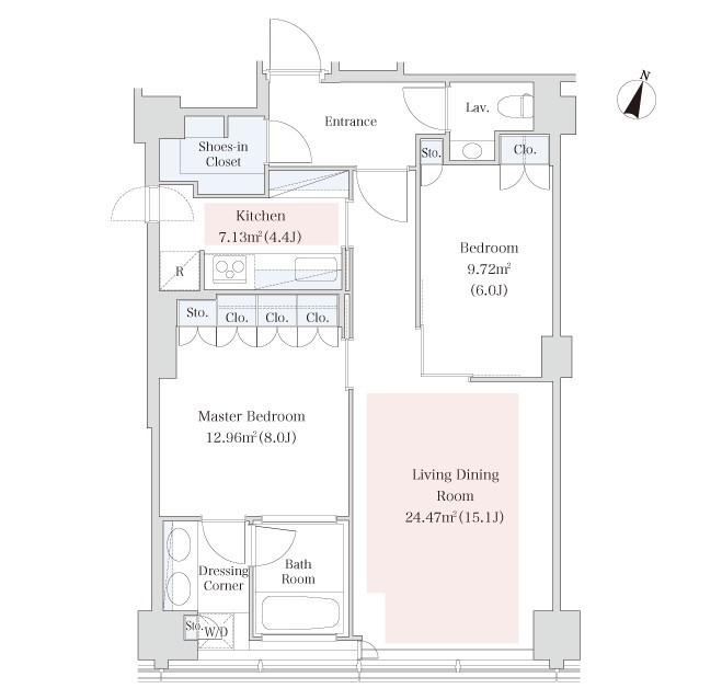 ラ・トゥール青葉台2810号室