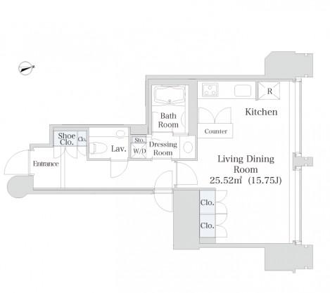 ラ・トゥール千代田2001号室