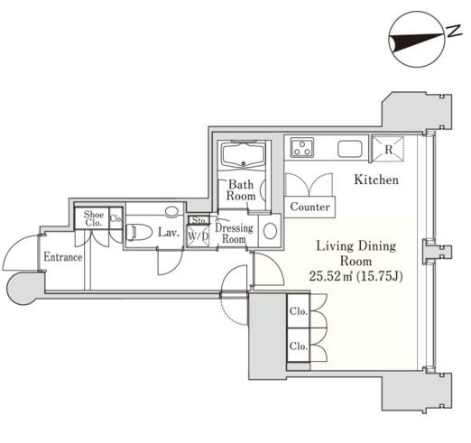 ラ・トゥール千代田2201号室