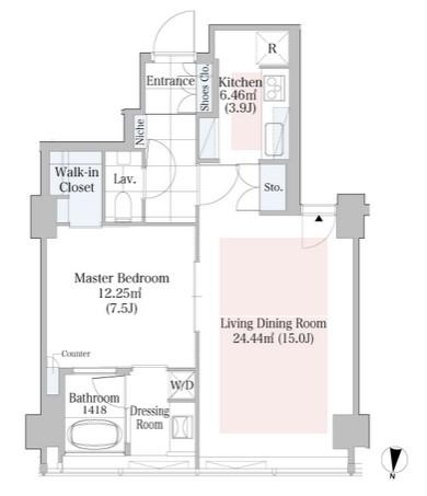 ラ・トゥール渋谷1303号室