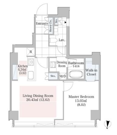 ラ・トゥール渋谷1305号室