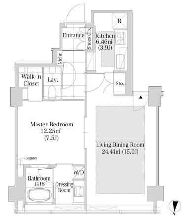 ラ・トゥール渋谷1403号室