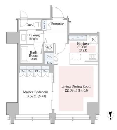 ラ・トゥール飯田橋1102号室
